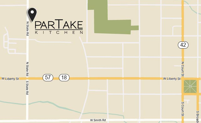 ParTake Kitchen - Map